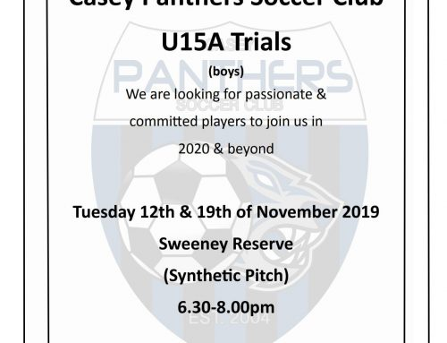 Trials for U15A