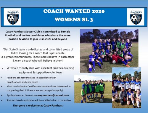 Women's SL3 coach wanted for 2020