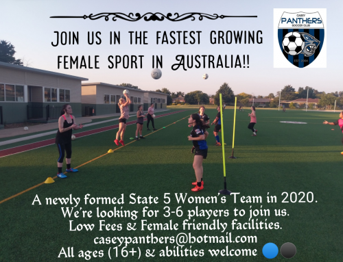 Women's Pre-Season for 2020